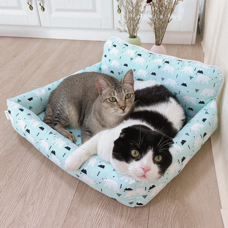 Cats nest all year round cool nest in summer cats nest washable dogs nest all year round size dog pet products