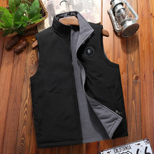 Men's cotton waistcoat in spring and Autumn