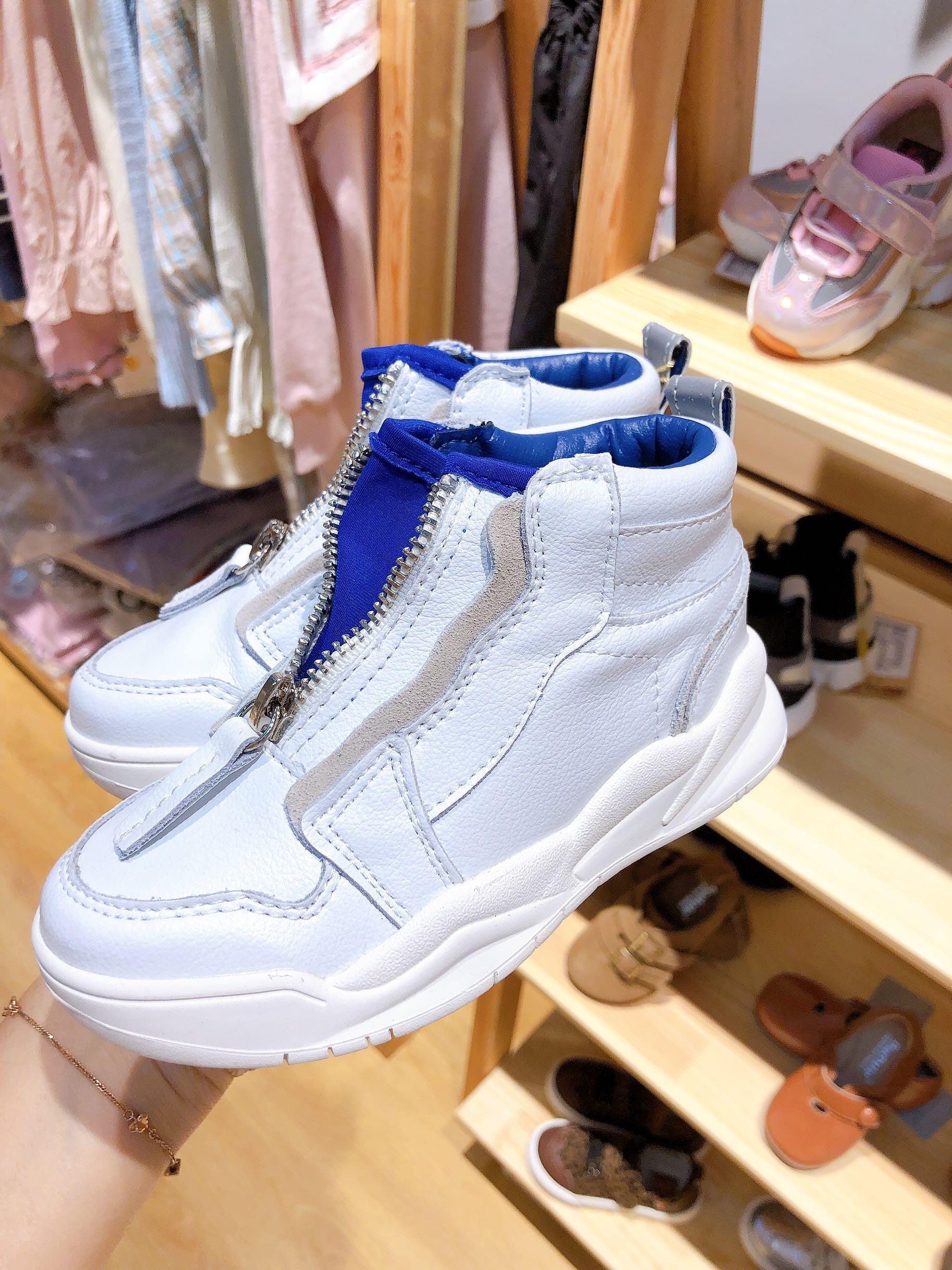 Hey baby芭杜乐2019韩国童鞋男女童运动鞋小白鞋