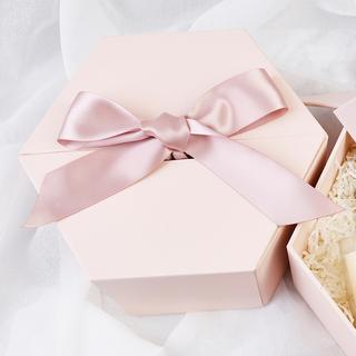 Свадебные подарочные коробки,  Шестиугольник подарочные коробки подружка невесты спутник рука подарок коробка пустой хорошо ins день рождения губная помада подарочная упаковка большие ящики,, цена 309 руб
