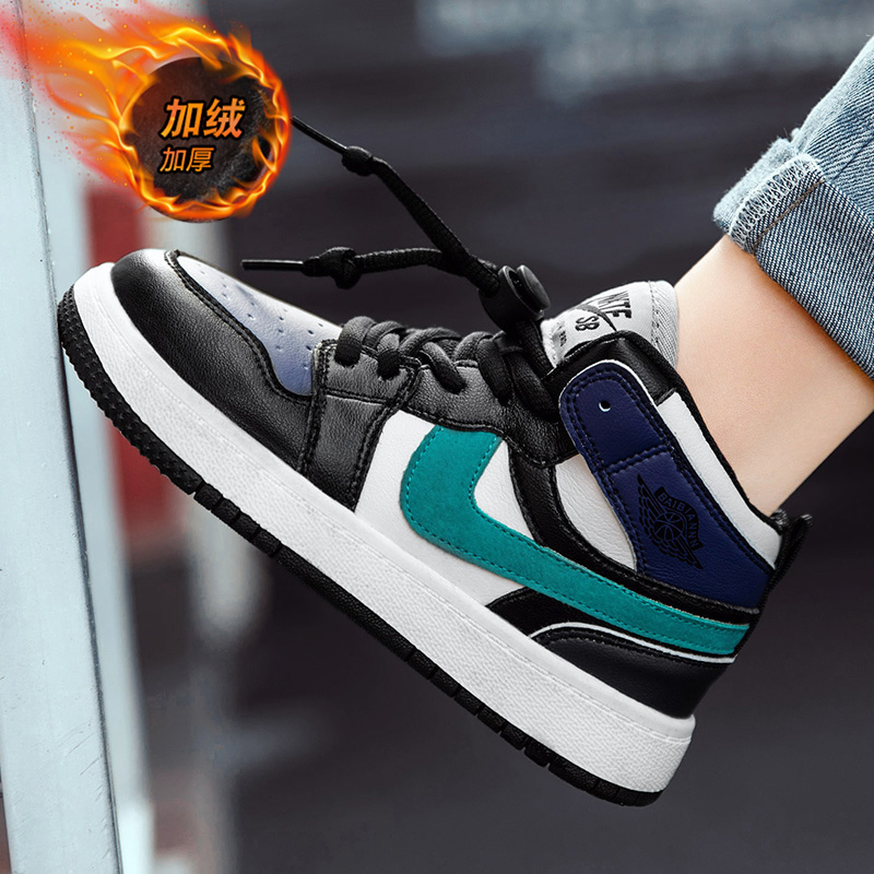 Boys shoes new high top sports shoes for children in autumn and winter 2020