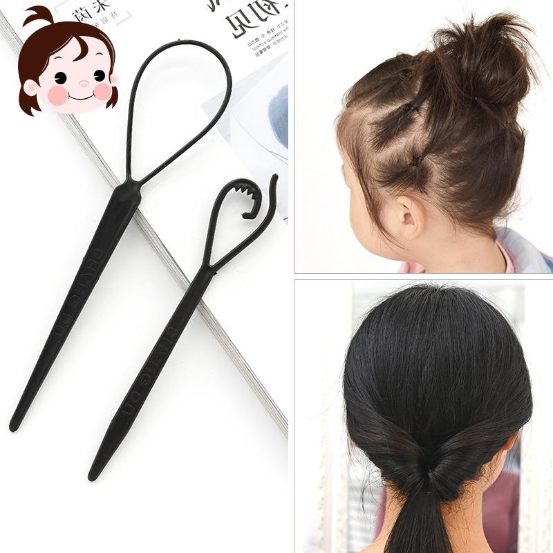 儿童盘发器美发工具套装塑料卷韩国百变不伤发卷发器成人编发器