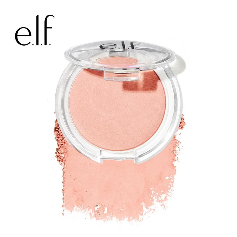 美国elf单色腮红女裸妆美颜自然粉色防水初学者哑光平价心机胭脂