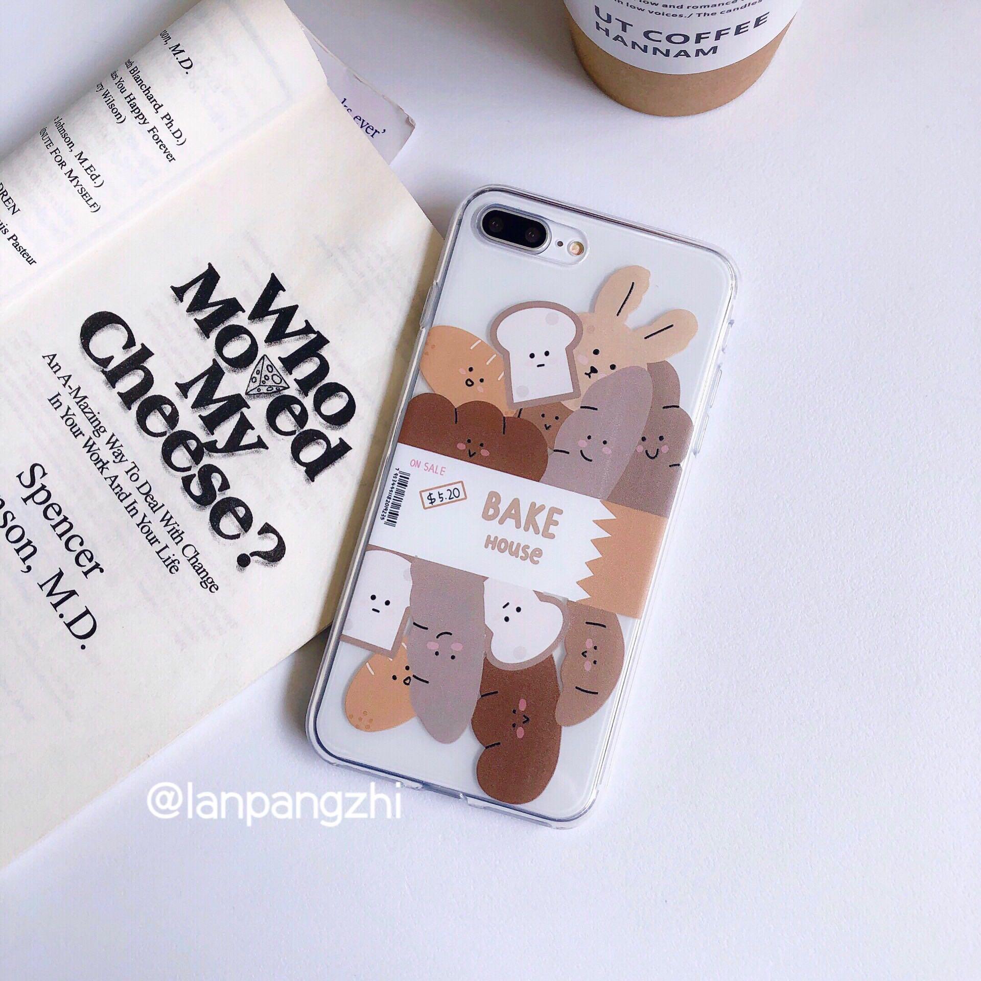 ins面包表情苹果11手机壳iPhonexsmax软xr/8plus/7/6s/(用39元券)
