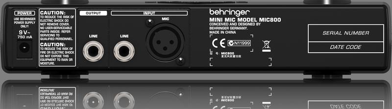 Сто дух достигать слова релиз MIC800 крохотные тип микрофон моделирование передний увеличить устройство