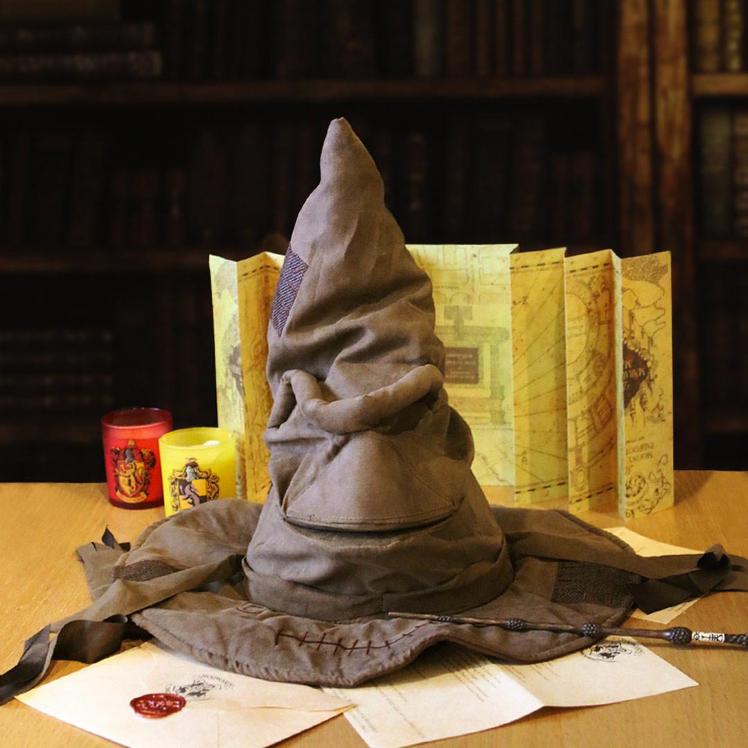 现货哈利波特分院帽 Harry Potter周边 霍格沃茨巫师帽 发声版