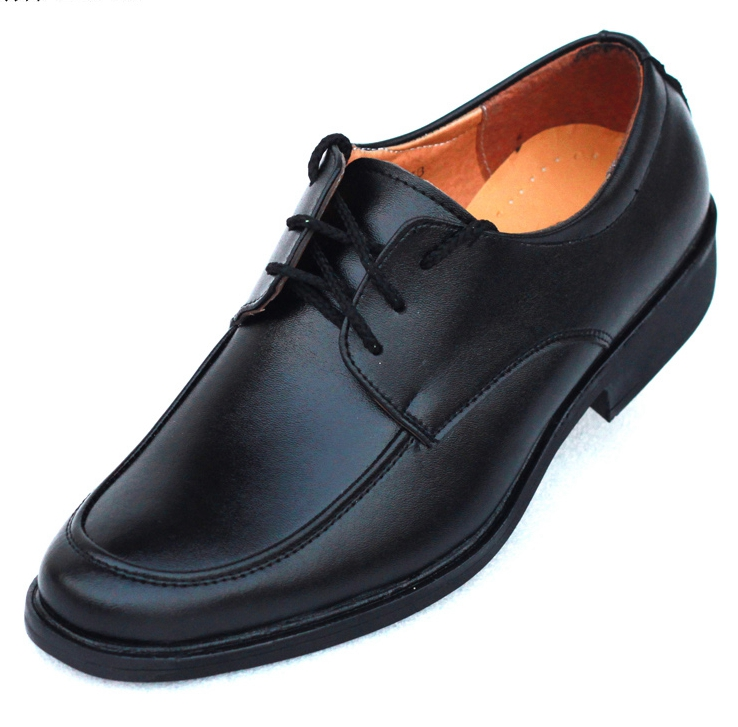 Authentic fashion mens business leather shoes British small round head leather mens formal wear lace up leather shoes patent leather mens shoes