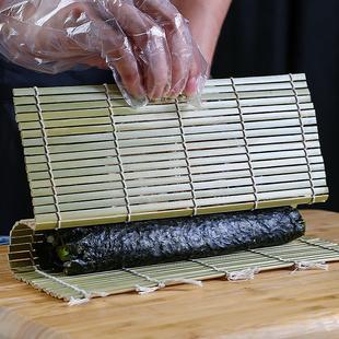 青皮寿司卷帘家用寿司工具竹帘子商用寿司专用竹帘卷寿司卷帘竹帘