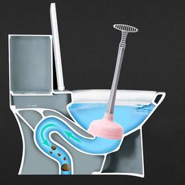 家用厕所管道疏通器 吸马桶工具皮搋子 通下水道工具堵塞吸水拔子图片