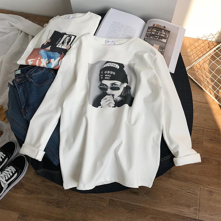 白色纯棉T恤