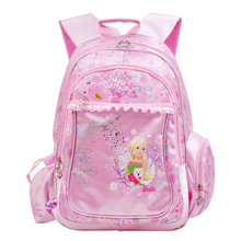 Barbie children's schoolbag, primary school girl, grade 1-3-6, girl, girl, 6-12 year old, princess, shoulder bag