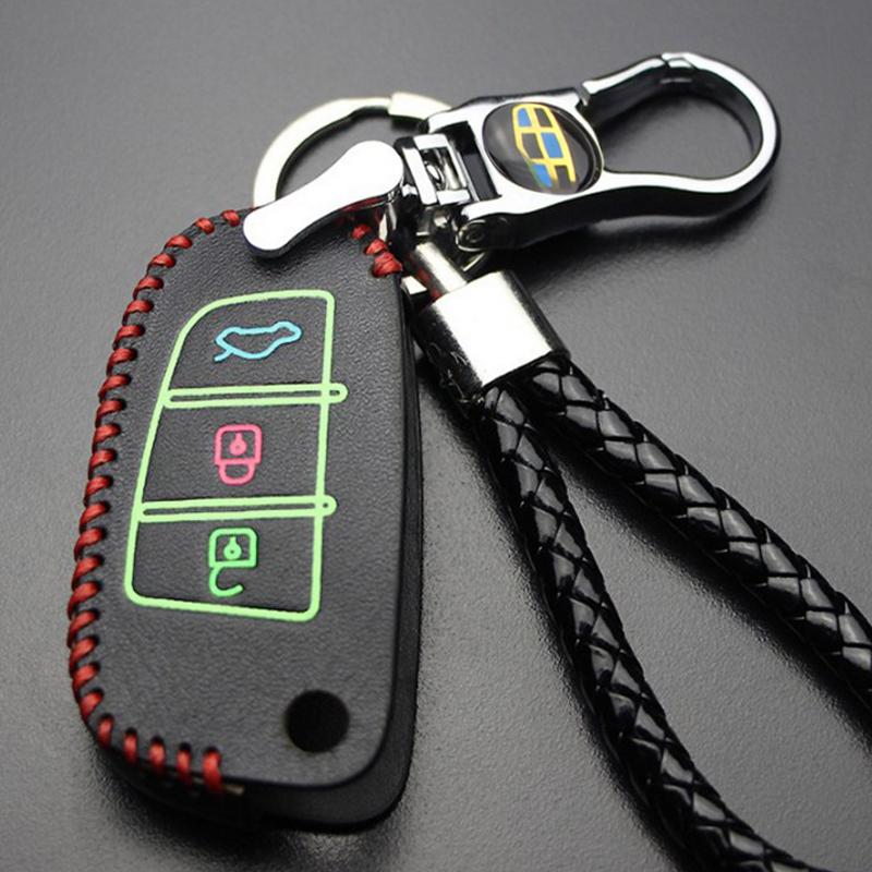 专用于吉利新远景幸福版手动2016款汽车钥匙包专用新金刚钥匙包套