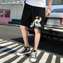 Summer beach pants men's fast dry loose Capris casual sports 2020 trend PANTS YOUTH shorts