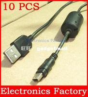 10PCS 1.5M USB 2.0 to mini 5 pin Data Cable For MP3 MP4