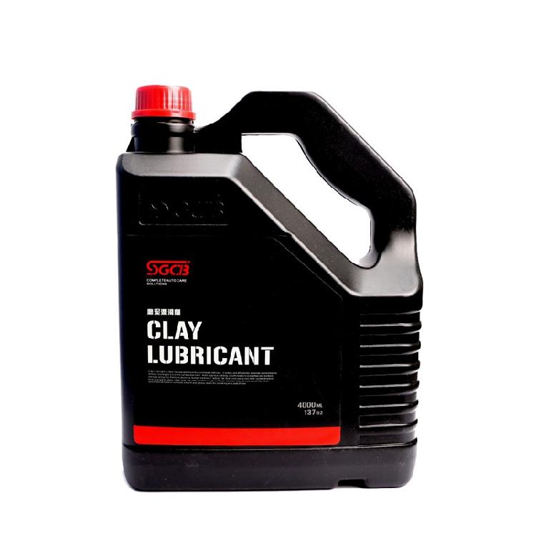 SGCB新格磨泥润滑剂 魔泥伴侣润滑液 洗车去污泥魔术布润滑剂4升