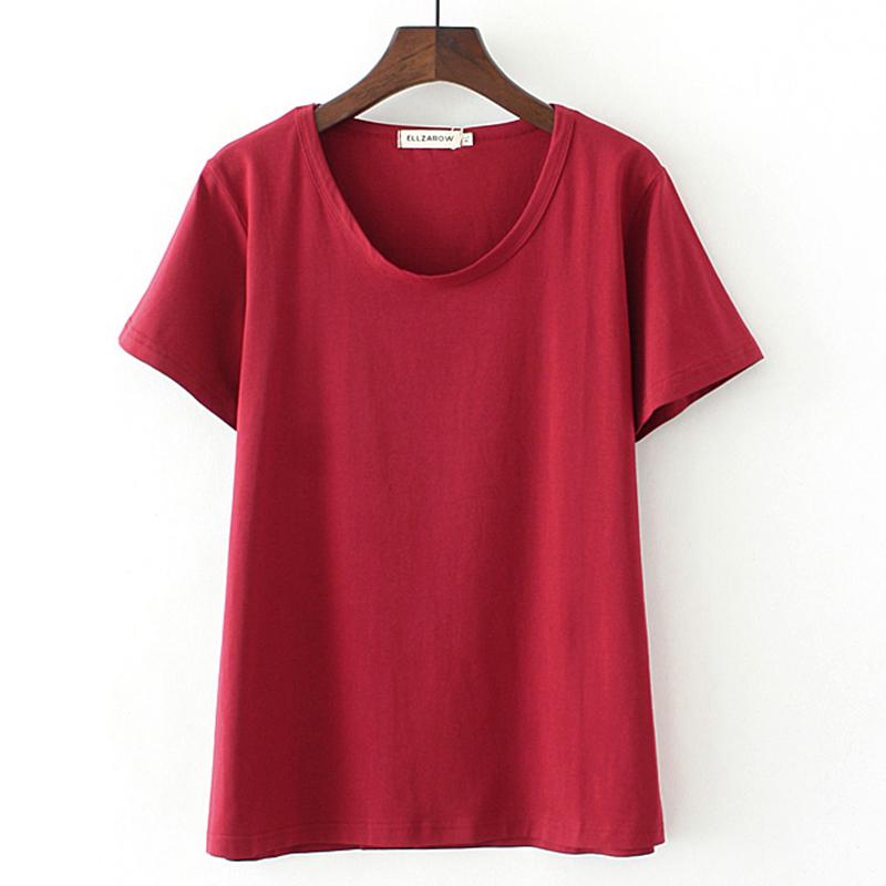 特大码t恤女短袖胖mm夏装宽松显瘦200斤打底衫潮肥胖女装加肥加大