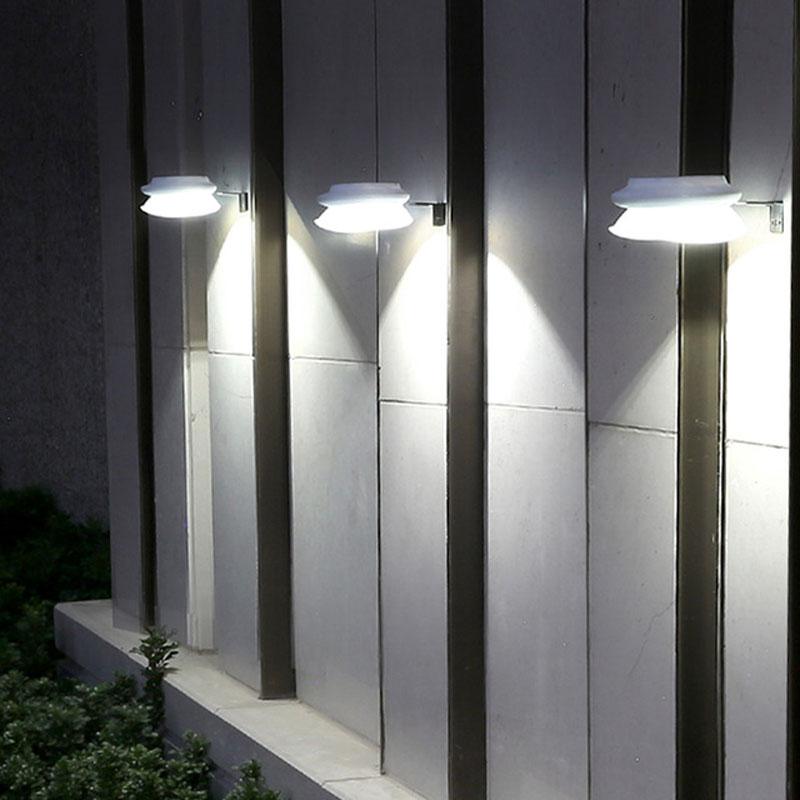 太阳能灯景观庭院灯户外防水篱笆围墙庭院灯超亮LED光控照明路灯