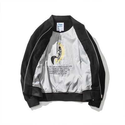 A241-T592P135 2017秋冬新款潮流日系夹克衫