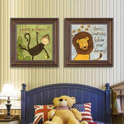 十字绣2020新款线绣客厅卡通卧室小幅儿童清新简约现代简单刺绣
