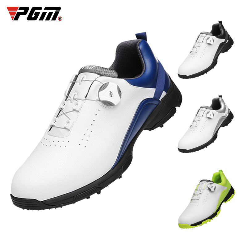Pgm143 golf shoes mens waterproof shoes antiskid spikeless shoes summer breathable mens shoes golf shoes