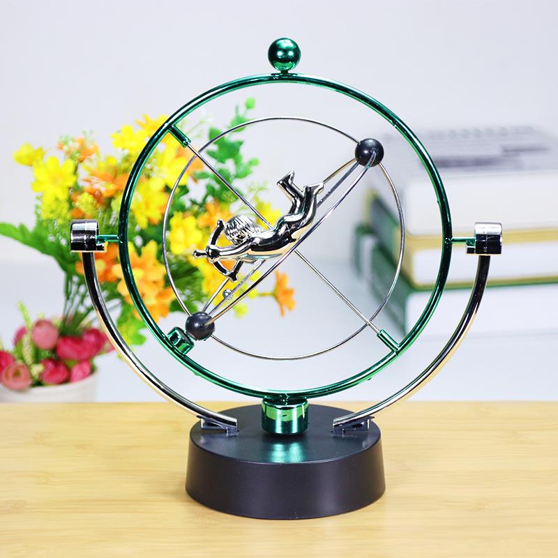 永动仪摆件 天体轨道 牛顿摆球永动机磁悬浮混沌摆件创意家居装饰