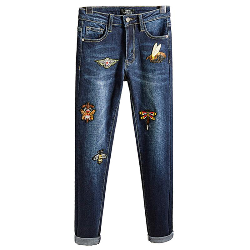 抖音网红新款原创设计高腰牛仔裤