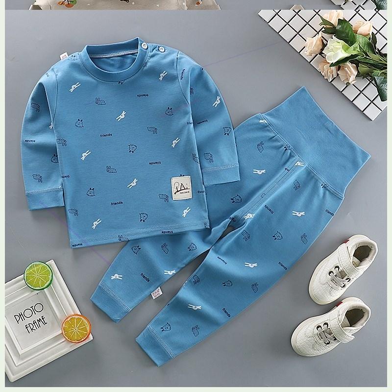 2019 mùa thu trẻ sơ sinh thời trang quần áo nhà quần áo mùa thu quần áo sơ sinh trẻ sơ sinh bộ trẻ em trẻ nhỏ - Quần áo lót
