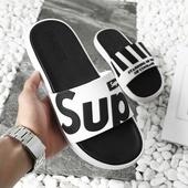 韩版2020新款拖鞋男士夏季情侣外穿厚底防滑耐磨时尚凉拖鞋