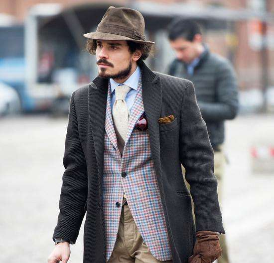 Japan bought back new single breasted high-end fashion retro gentleman British sheep wool suit vest