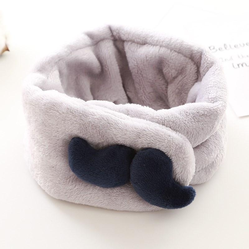 婴童装加厚0-1-2岁保暖儿童宝宝围脖3秋冬季6婴儿围巾12月