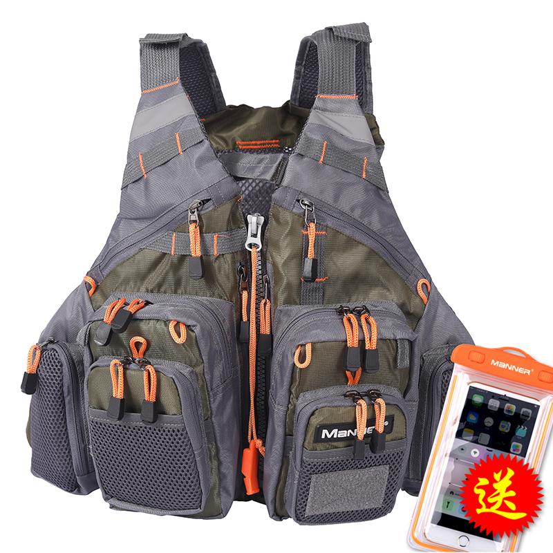 釣り救命胴衣ベスト多機能専門海釣り多ポケット磯釣り場携帯船用救命胴衣