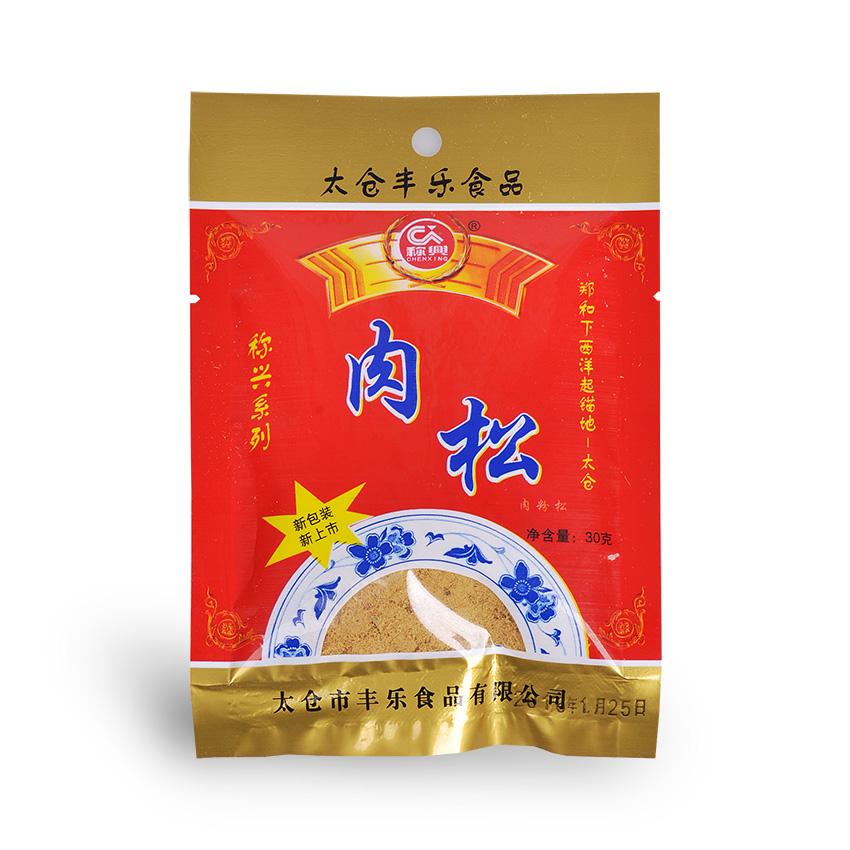 太仓猪肉松肉粉松 寿司料理面包烘焙猪肉酥 入口绵软 口感好30g