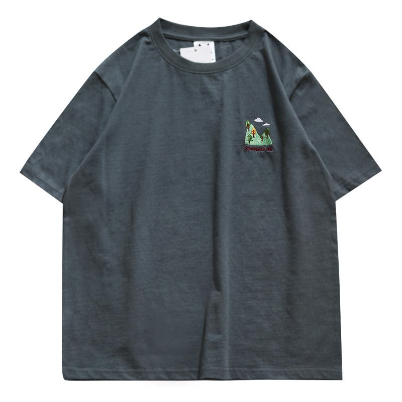 港风潮牌宽松男短袖夏季ins t恤好不好