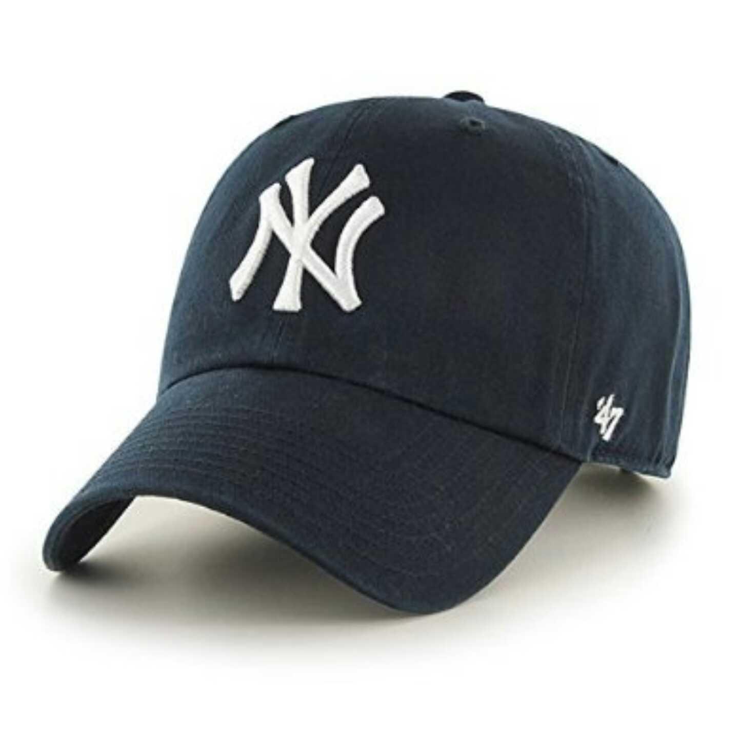 47 brand NY 洋基 全棉 软顶 棒球帽 多色