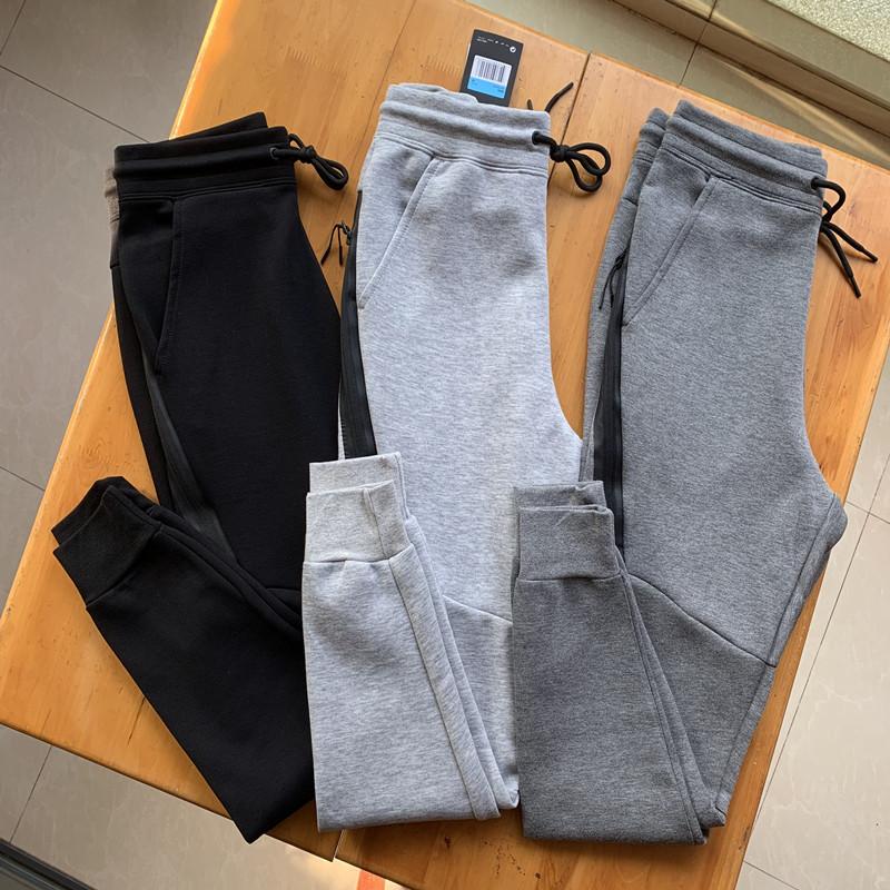 好穿有型 男士束脚款弹力修身运动长裤 男士慢跑运动裤