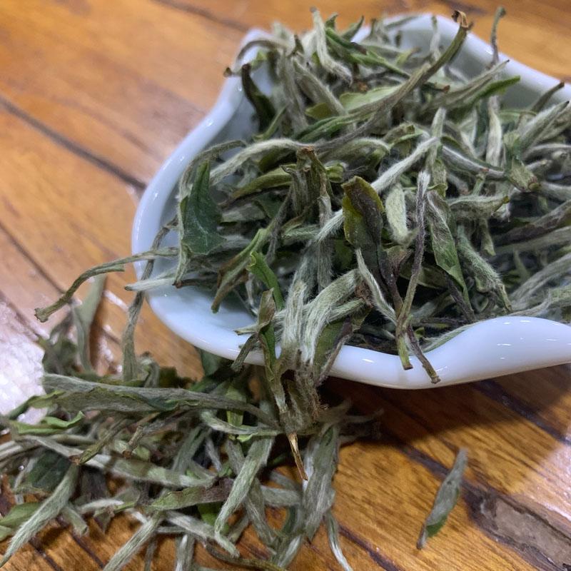 2020年新茶明前荒野牡丹王福鼎自家茶山纯日晒散茶可存老白茶500g