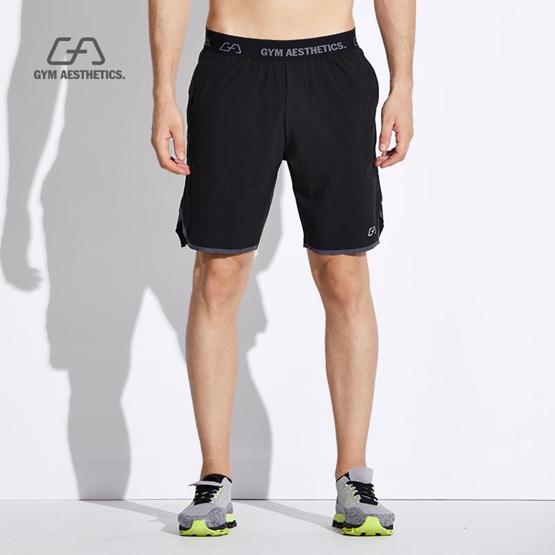 满100元可用10元优惠券gymaesthetics运动短裤男夏季宽松速干跑步裤健身训练篮球五分裤