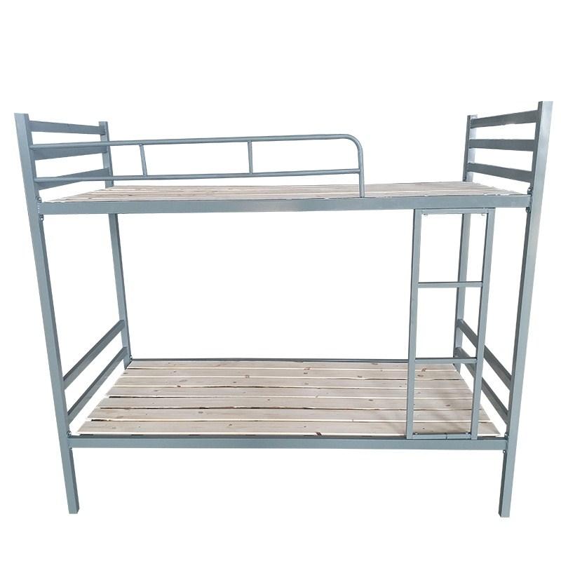 上下铺铁架床双层成人学生员工宿舍1.2米铁艺架子高低床铁床单人