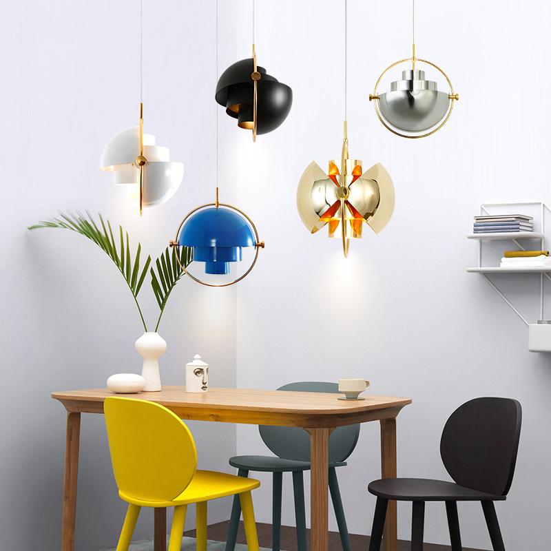 北欧灯具简约现代酒吧台卧室床头设计师的灯铁艺创意个性餐厅吊灯