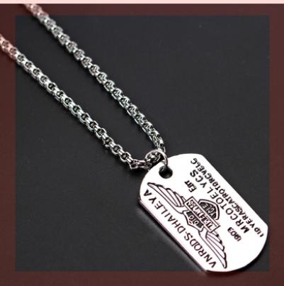 Street barber big gas accessories geometric six star sports new accessories chest chain pendant spirit chest.