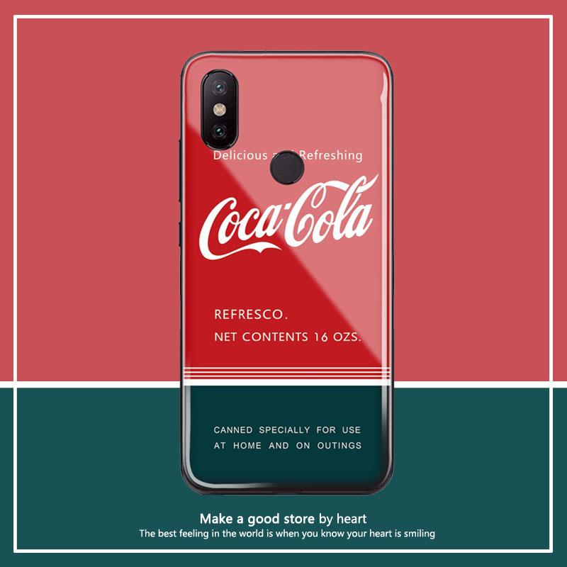 11-06新券复古夏日可乐8x华为玻璃2s手机壳