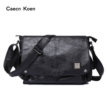 CK single shoulder bag men's real leather bag cross style bag business men's bag cross messenger bag fashion small trend bag