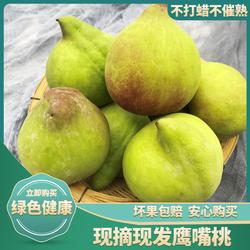 云南蒙自鹰嘴桃时令桃子水果新鲜当季脆桃水蜜桃孕妇水果整箱5斤