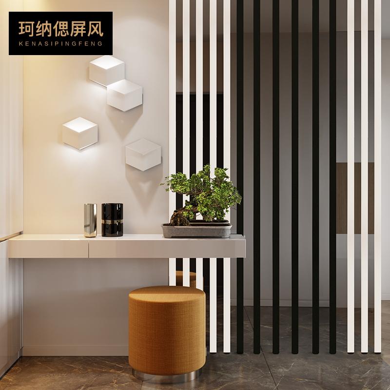 不锈钢隔断装饰创意diy餐厅玄关办公室屏风客厅房间浴室隔断墙