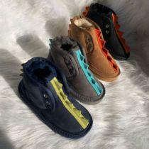 2020新款正品ESТUGG儿童雪地靴羊皮毛一体男童女童防水防滑童鞋