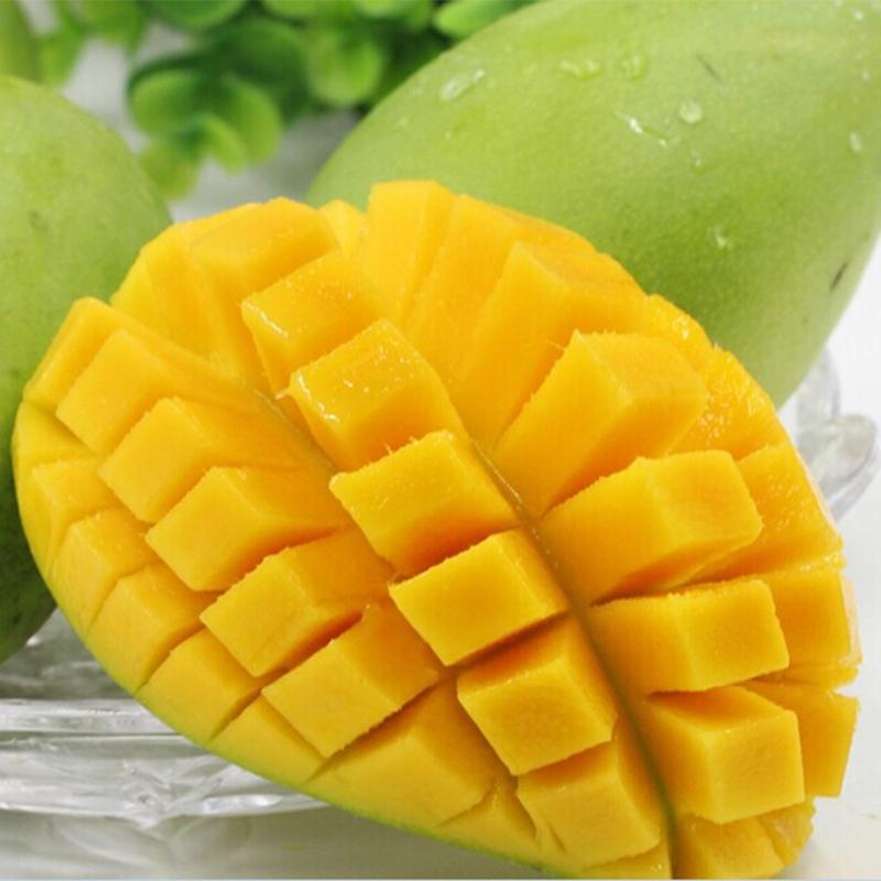芒果新鲜包邮5斤广西应季水果批发当季整箱中大果甜心青芒金煌芒
