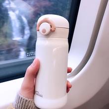 日本茶杯猫保温杯女可爱少女心ins学生简约小巧便携迷你水杯子316