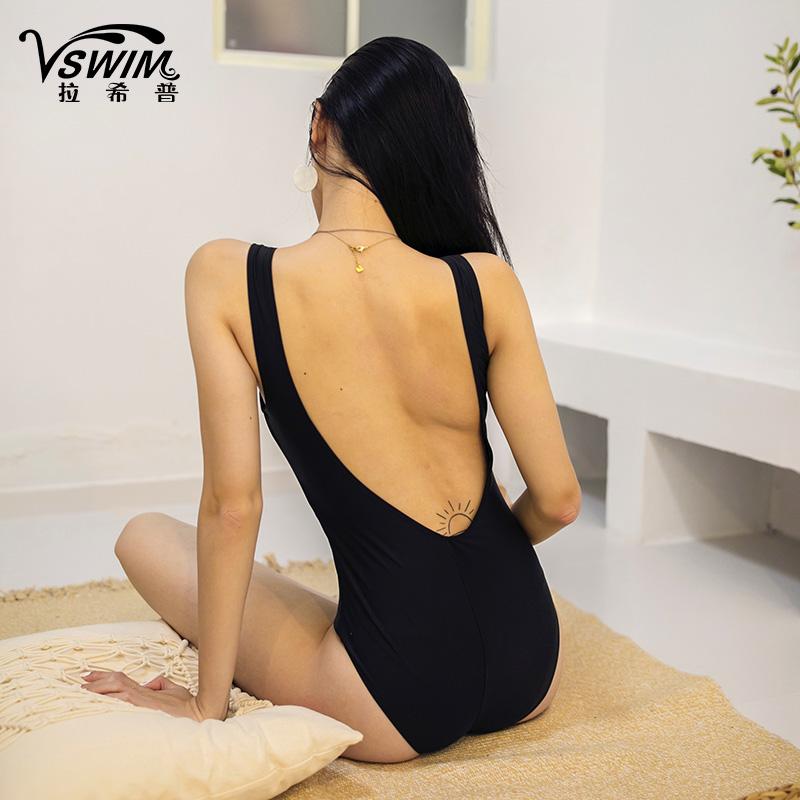 游泳衣女韩国ins风显瘦遮肚保守2020新款爆款性感仙女范连体泳装
