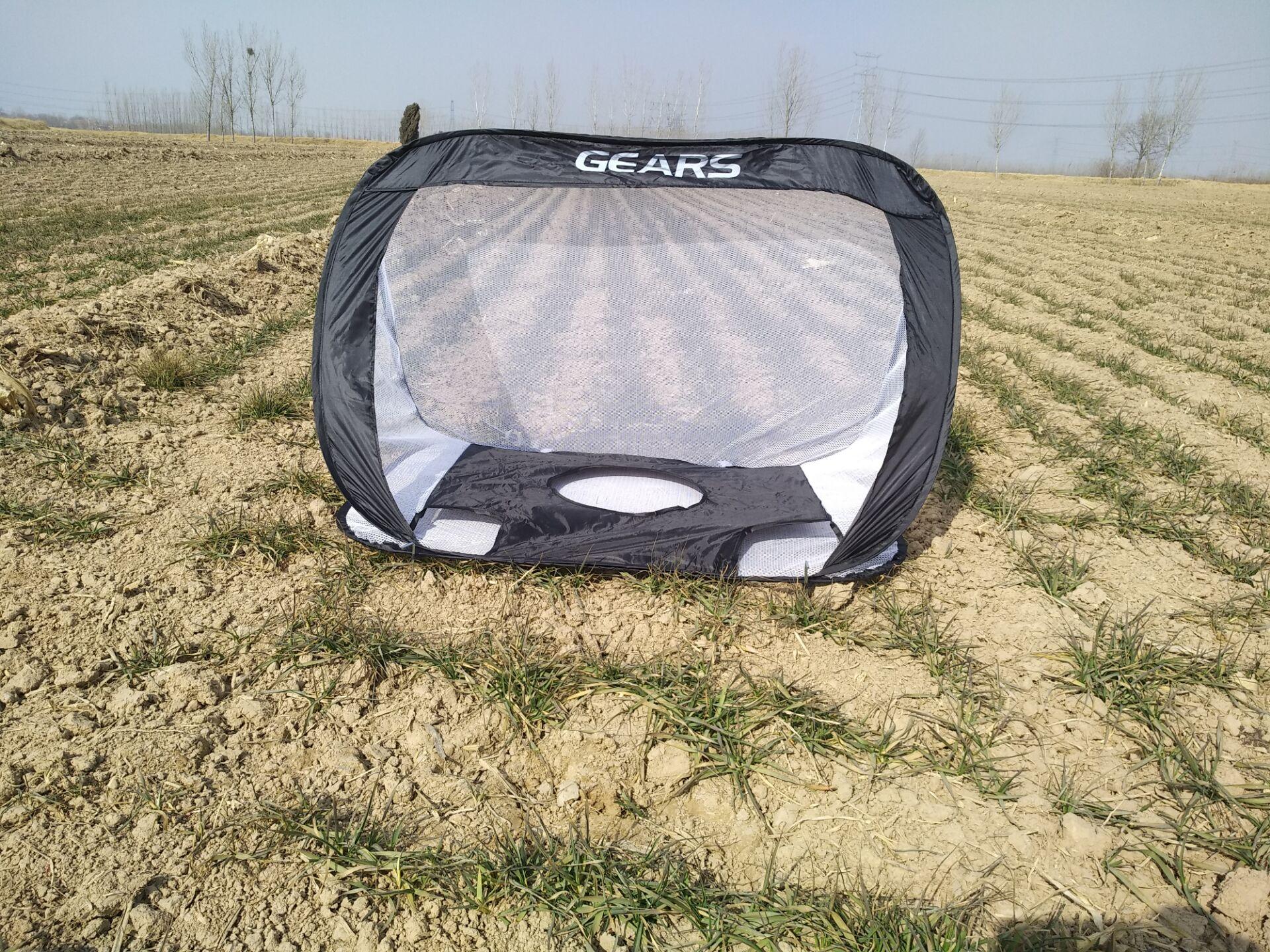 Ребенок футбол цели сложить небольшой футбол чистый портативный сетка на открытом воздухе движение ребенок использование