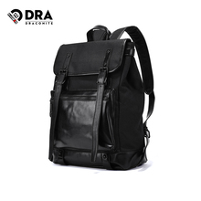 Draconite Fashion College style Canvas Backpack men's leisure simple fashion brand computer backpack 11489